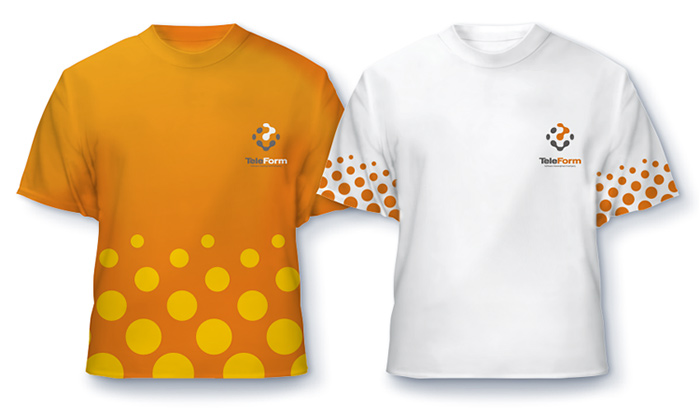 Элементы фирменного стиля. Фирменные футболки.